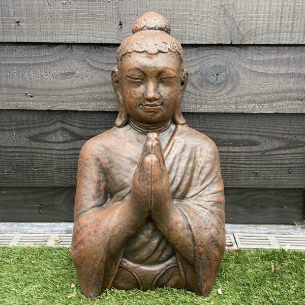 Boeddha borstbeeld, borstbeeld boeddha Tuinbeelden Utrecht Veenendaal Tuinbeelden Veenendaal