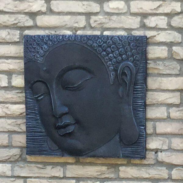 Boeddha wandplaat Tuinbeelden Utrecht Tuinbeelden Veenendaal